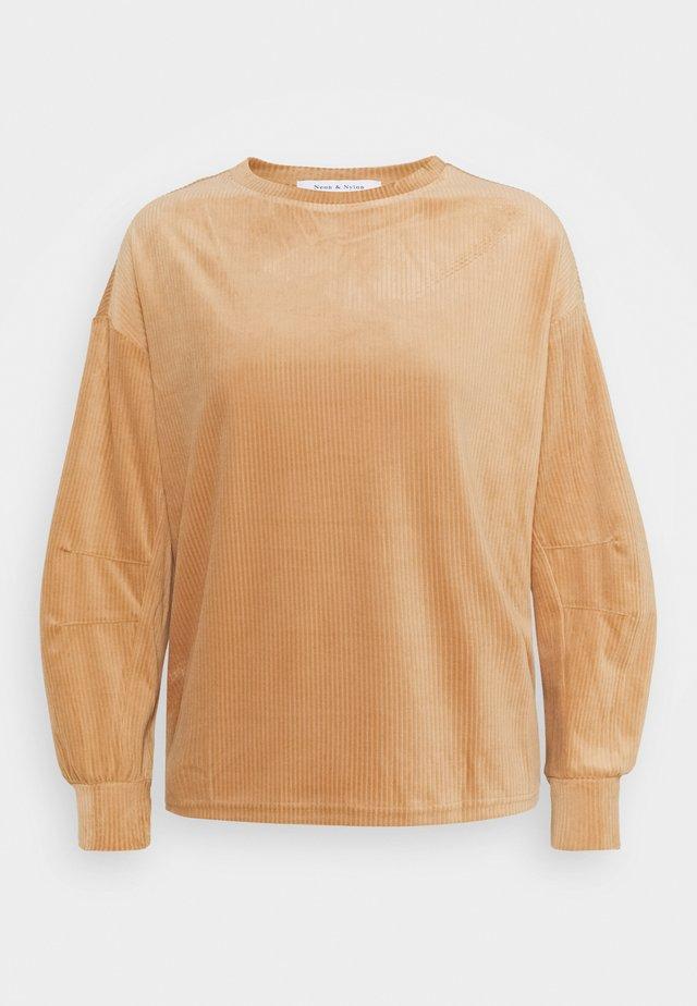 ONLAZZA PETIT - Sweatshirt - camel