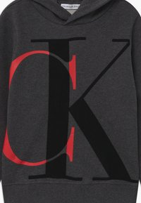 Calvin Klein Jeans - EXPLODED MONOGRAM HOODIE UNISEX - Mikina s kapucí - grey - 2