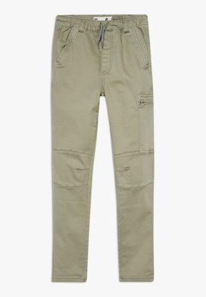 Cargo trousers - silver sage
