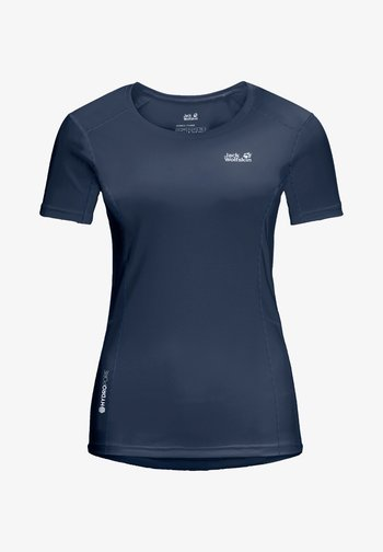 Print T-shirt - dark indigo