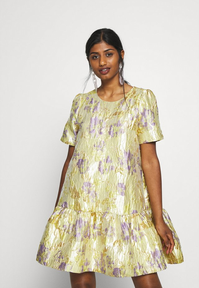 YASJAPANA DRESS - Korte jurk - yellow