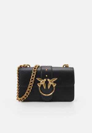 LOVE MINI ICON JEWEL ANTIQUE - Torba na ramię - black