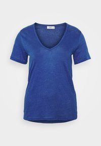 CLOSED - WOMENS DELETION LIST - Basic T-shirt - cobalt blue - 5