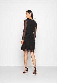 JDY - JDYDIXIE LAYER DRESS - Day dress - black - 2