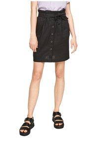 Q/S designed by - A-line skirt - black - 5