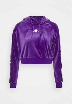 DAMAS - Hoodie - violet/black