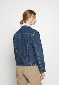 Levi's® - TRUCKER - Denim jacket - rough and tumble - 2
