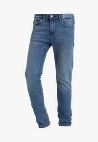 CULVER - Slim fit jeans - light stone wash denim