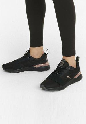 Trainers - puma black rose gold