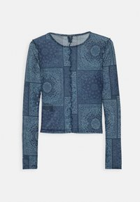 BDG Urban Outfitters - PRINT TOP - Blůza - blue - 1