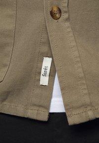 forét - BOAR OVERSHIRT - Summer jacket - stone - 6