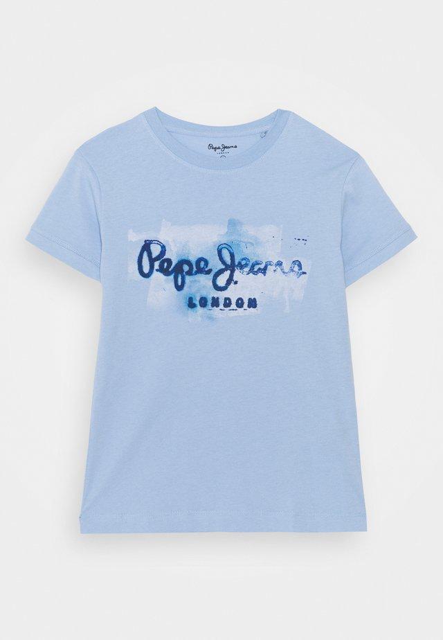 T-Shirt print - pacificblue