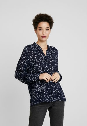 NILA SHIRT - Button-down blouse - marine blue