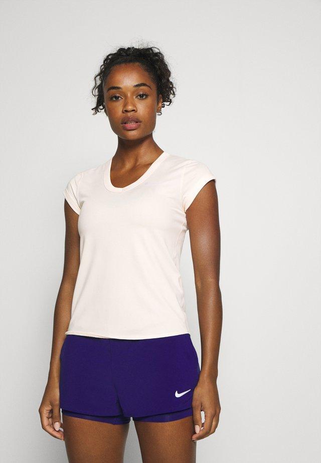 DRY - T-shirt basic - guava ice/white