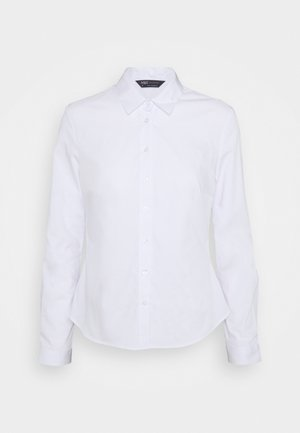 FITTED SHIRT - Camisa - white