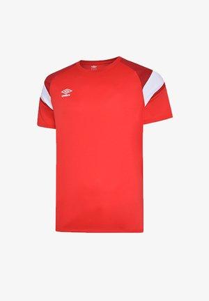 Basic T-shirt - rotweiss