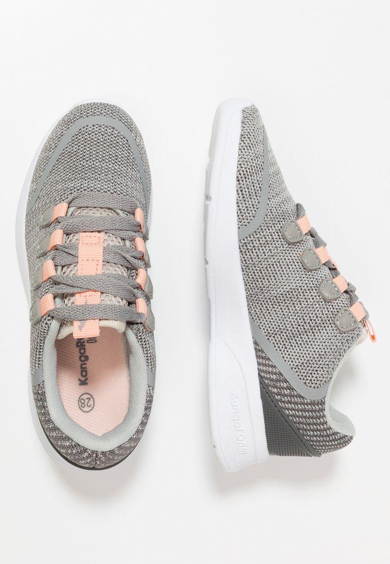 KangaROOS - KF LOCK - Sneakers - vapor grey/dusty rose