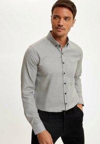 DeFacto - Formal shirt - grey - 4