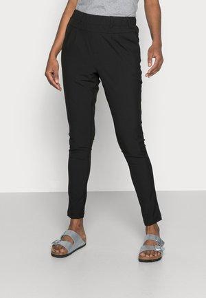 JILLIAN PANTS - Pantalon classique - black deep