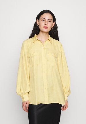 ELIN UTILITY - Button-down blouse - yellow