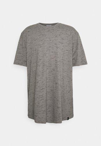 JORNOA TEE CREW NECK - T-shirt - bas - black