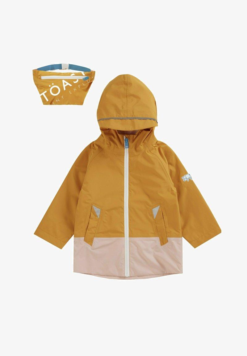 Töastie - FEATHERLITE PAC-A-MAC - Waterproof jacket - yellow