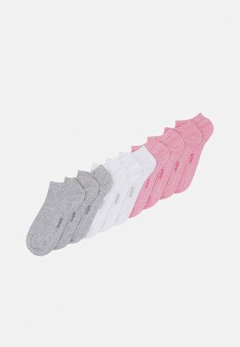 10 PACK UNISEX - Socks - pink melange