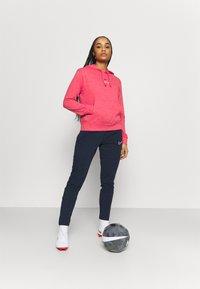 Nike Performance - FC BARCELONA GYM HOODIE - Club wear - fusion red/deep royal blue - 1