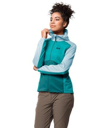 MOUNT ISA - Fleece jacket - aquamarine