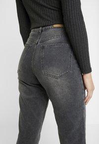 Cotton On - HIGH - Jeans Straight Leg - super wash black - 5
