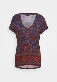 BENIN - Camiseta estampada - navy