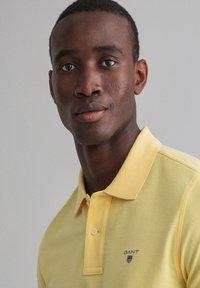 GANT - Polo shirt - brimestone yellow - 3