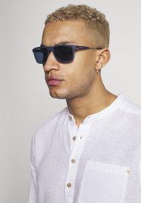 Emporio Armani - Sunglasses - matte blue - 1