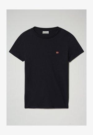 SALIS - T-shirt basic - blu marine