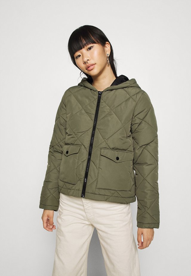 NMFALCON - Light jacket - dusty olive/black
