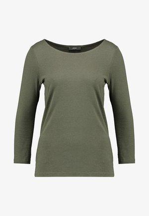 Camiseta de manga larga - olive night