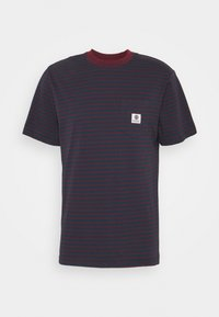 Element - BASIC STRIPES - Print T-shirt - eclipse navy - 0