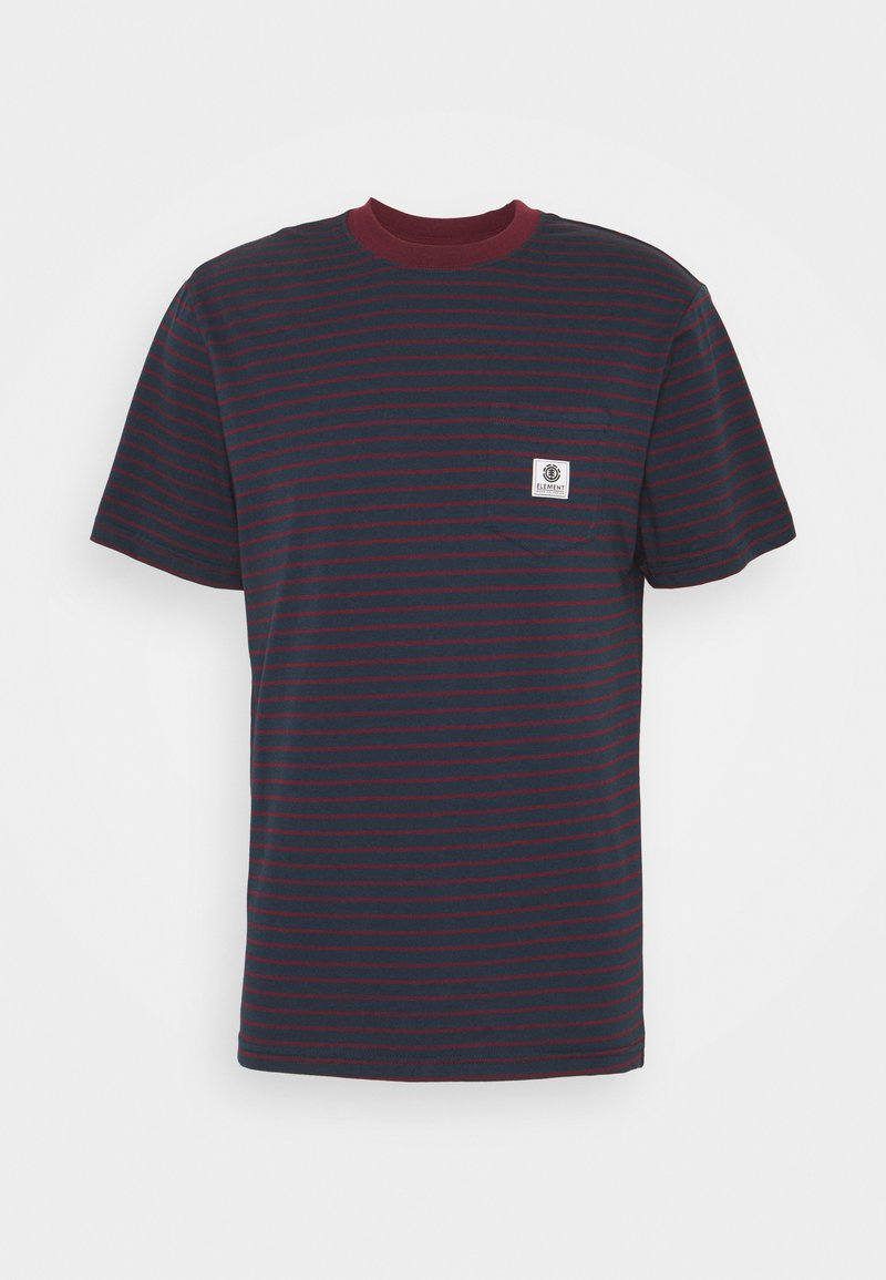 Element - BASIC STRIPES - Print T-shirt - eclipse navy