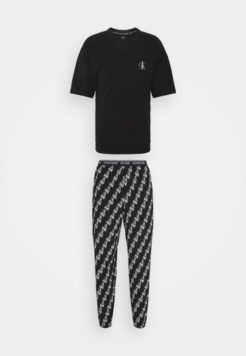 LOUNGE JOGGER - Pyjamas - black