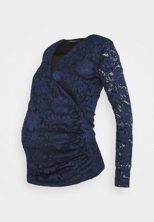 PIAS - Long sleeved top - dark blue