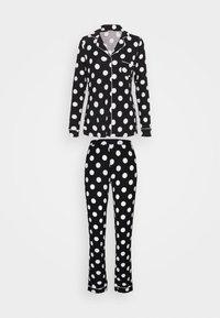 Anna Field - JERSEY AMANDA  - Pyjama - black/white - 0