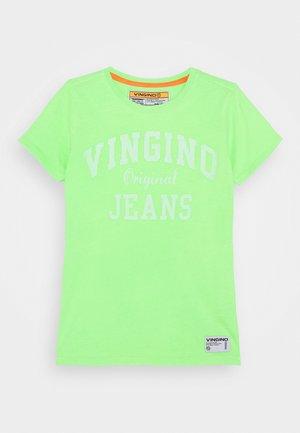 HAWALI - T-shirt print - neon green
