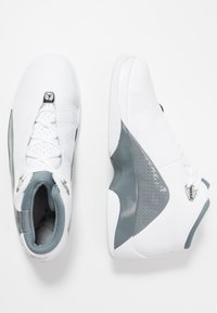 Jordan - JUMPMAN TEAM FLOW - High-top trainers - white/black/cool grey - 1