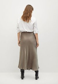 Violeta by Mango - Maxi skirt - copper - 2