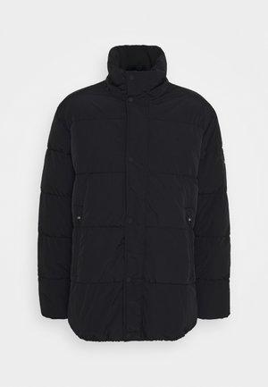 CRINKLE - Winter coat - black