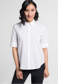 Eterna - MODERN CLASSIC - Button-down blouse - white - 0