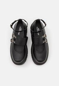 Koi Footwear - VEGAN  - Ballerinasko m/ rem - black - 4