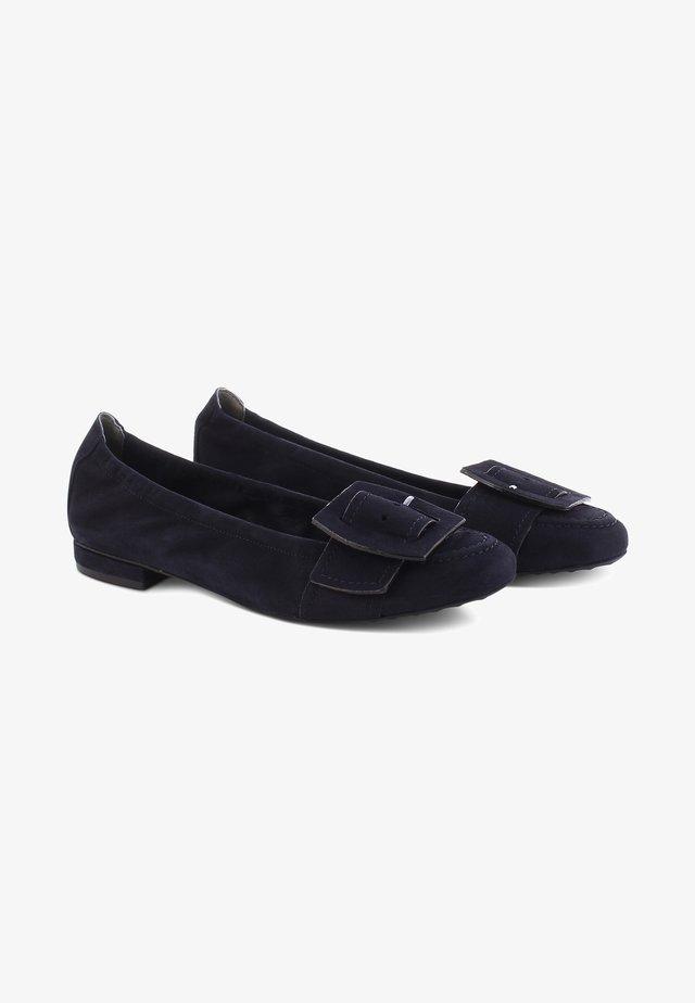 MALU - Ballet pumps - blau