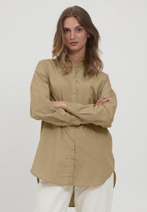 BYGAMZE  - Button-down blouse - tannin