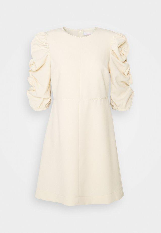 Robe de soirée - angora beige